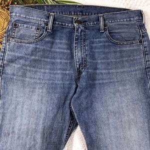 LEVI'S 569 Denim Blue Jeans Medium Wash Mid Rise